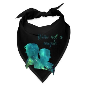 We're Not a Couple - Tote Bag - Bandana