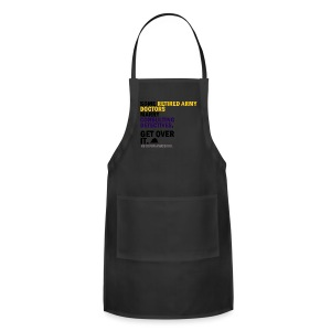 Johnlock Against H8 - Tote Bag - Adjustable Apron