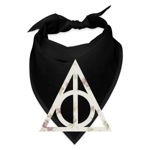 Deathly Hallows (Floral) - Tote Bag - Bandana