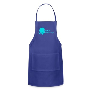 Detangle in Blue - Adjustable Apron