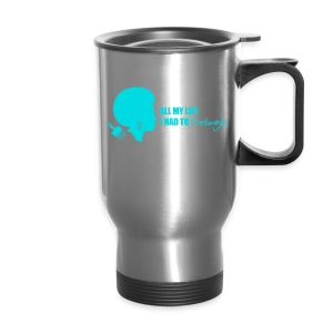 Detangle in Blue - Travel Mug