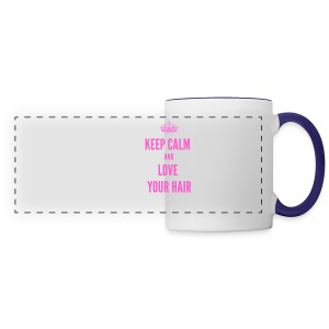 Keep Calm Love - Panoramic Mug
