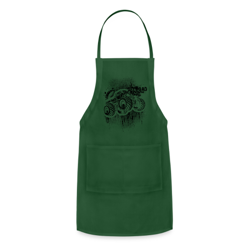 Monster Truck Grunger BACK - Adjustable Apron