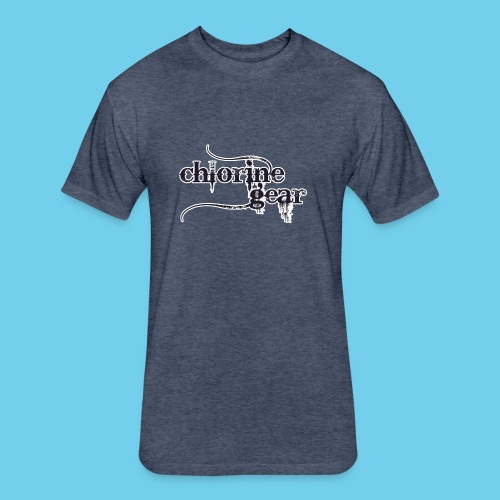 I Swim, therefore IM- Youth Tee - Fitted Cotton/Poly T-Shirt by Next Level