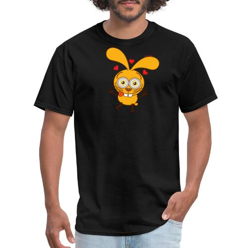 Bunny feeling madly in love Long Sleeve Shirts - Men's T-Shirt