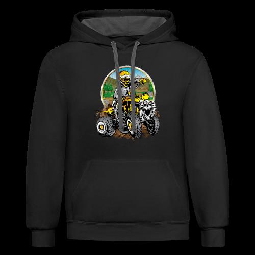 Extreme ATV Shirt - Contrast Hoodie