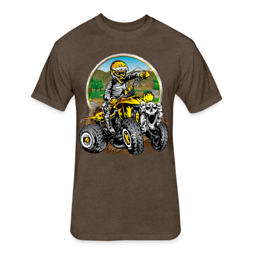 Extreme ATV Shirt - Fitted Cotton/Poly T-Shirt by Next Level