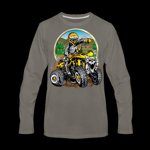 Extreme ATV Shirt - Men's Premium Long Sleeve T-Shirt