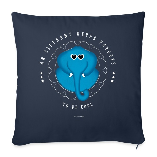 An Elephant Never Forgets - Throw Pillow Cover