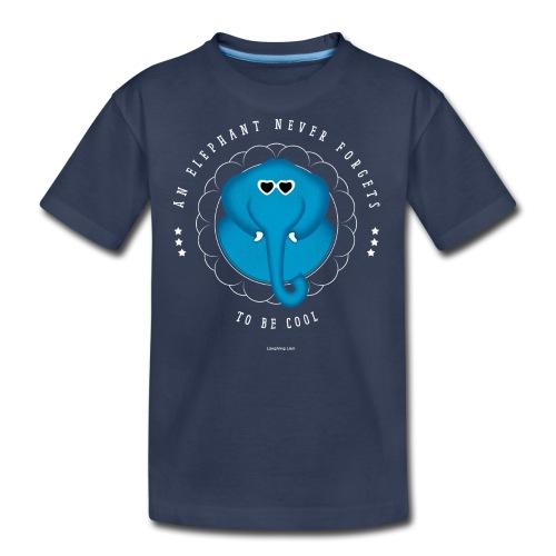 An Elephant Never Forgets - Kids' Premium T-Shirt