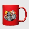 Hot Dog Monster Truck 1 Mugs & Drinkware - Full Color Mug