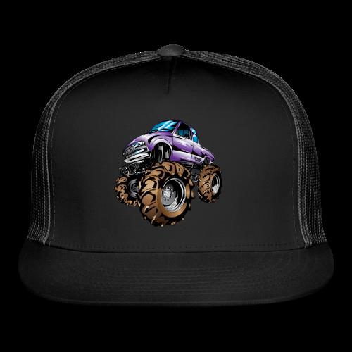 Purple Mega Truck - Trucker Cap
