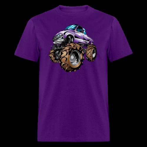Purple Mega Truck - Men's T-Shirt