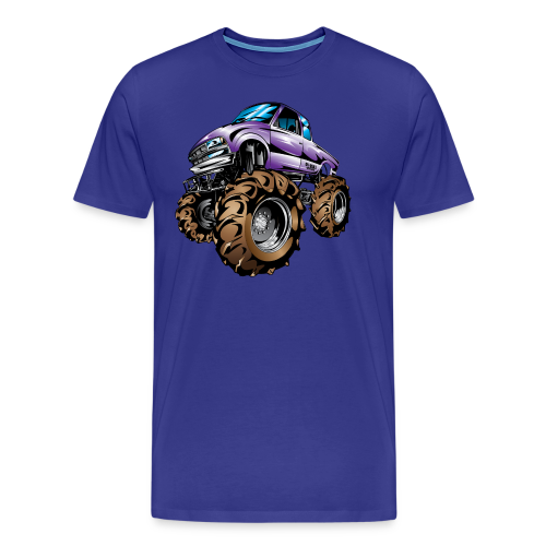 Purple Mega Truck - Men's Premium T-Shirt