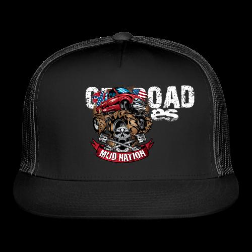 Mud Nation Mega Truck BACK - Trucker Cap
