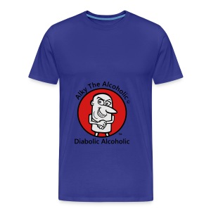 Alky The Alcoholic - Diabolic Alcoholic - Men's Premium T-Shirt