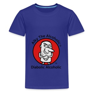 Alky The Alcoholic - Diabolic Alcoholic - Kids' Premium T-Shirt