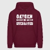 Oxygen is overrated Hoodies - Men's Hoodie