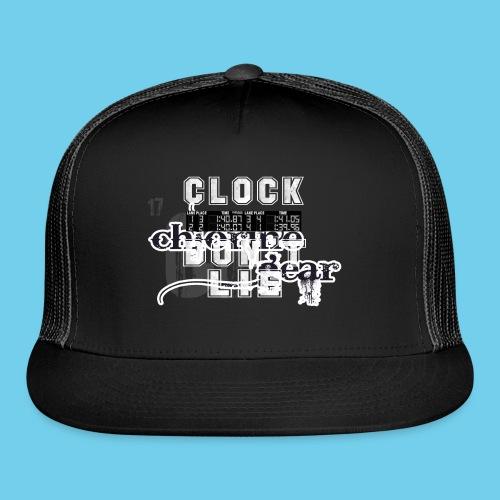 Clock don't lie- Men's Ringneck Tee - Trucker Cap
