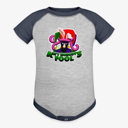 Ain't Nobody's Fool - T-Shirt - Contrast Baby Bodysuit