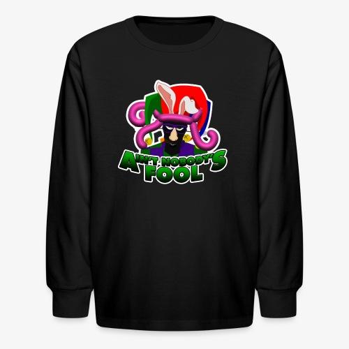 Ain't Nobody's Fool - T-Shirt - Kids' Long Sleeve T-Shirt