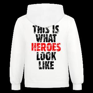 Hero T-Shirt (Vintage Black/Red) - Contrast Hoodie