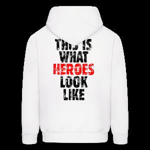 Hero T-Shirt (Vintage Black/Red) - Men's Hoodie