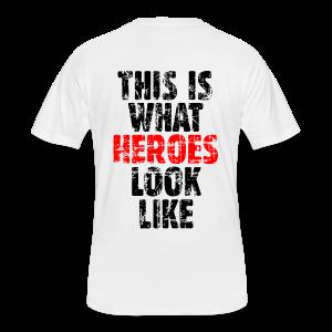 Hero T-Shirt (Vintage Black/Red) - Men's 50/50 T-Shirt