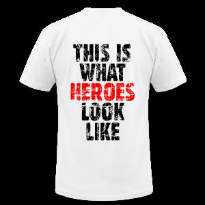 Hero T-Shirt (Vintage Black/Red) - Men's Fine Jersey T-Shirt