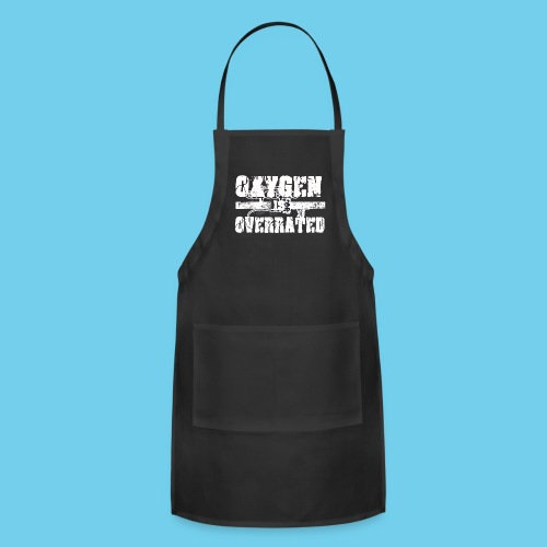 O2 is Overrated-Youth LS Tee- Front Design/Rear Mini Logo - Adjustable Apron