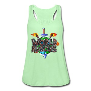 World Buscus  - Women's Flowy Tank Top by Bella