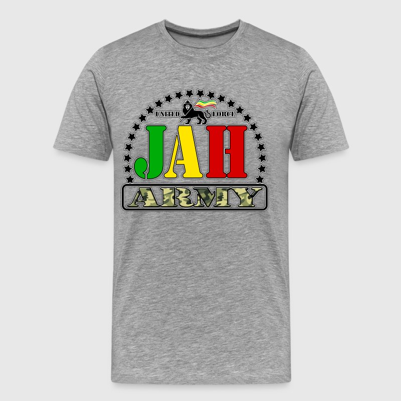 united force jah army T-Shirts - Men's Premium T-Shirt