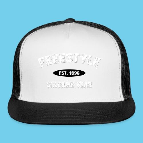 Freestyle est. 1896- Keep it Simple Men's Ringer Tee - Trucker Cap