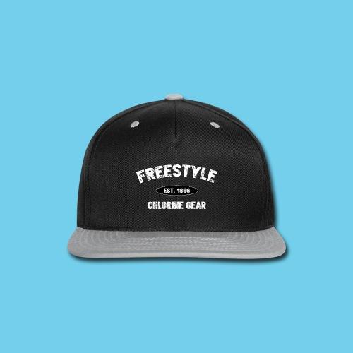Freestyle est. 1896- Keep it Simple Men's Ringer Tee - Snap-back Baseball Cap