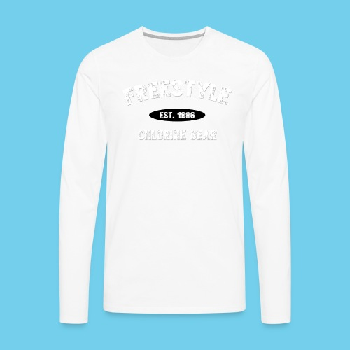 Freestyle est. 1896- Keep it Simple Men's Ringer Tee - Men's Premium Long Sleeve T-Shirt