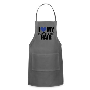 BLUE Slim Fit Women's T-shirt by American Apparel - Adjustable Apron