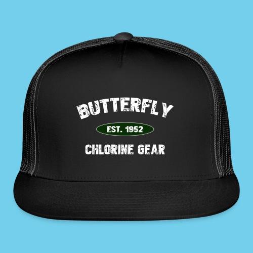 Butterfly est 1952- Keep it Simple Collection- Men's LS Tee - Trucker Cap