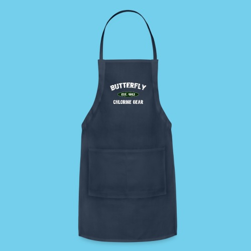 Butterfly est 1952- Keep it Simple Collection- Men's LS Tee - Adjustable Apron