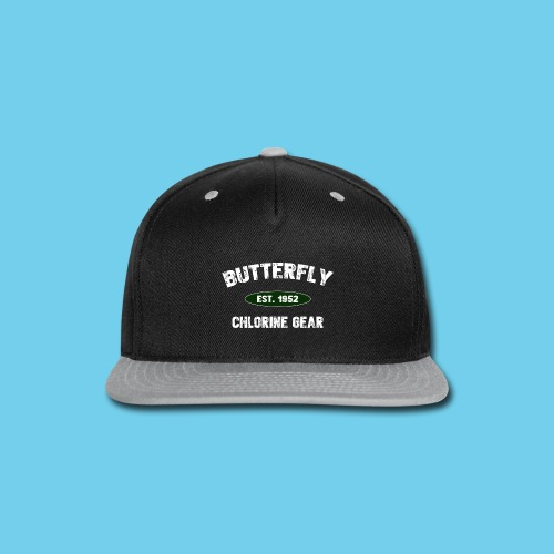 Butterfly est 1952- Keep it Simple Collection- Men's LS Tee - Snap-back Baseball Cap