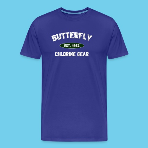 Butterfly est 1952- Keep it Simple Collection- Men's LS Tee - Men's Premium T-Shirt