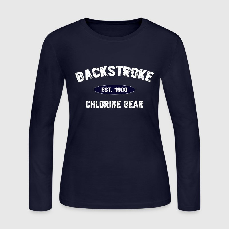 Backstroke est. 1900 Long Sleeve Shirts - Women's Long Sleeve Jersey T-Shirt