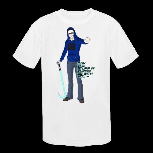 Kid's Sl1pg8r #MTSATBWY Contest Winner! - Kids' Moisture Wicking Performance T-Shirt