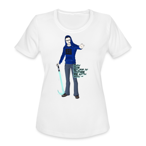 Kid's Sl1pg8r #MTSATBWY Contest Winner! - Women's Moisture Wicking Performance T-Shirt