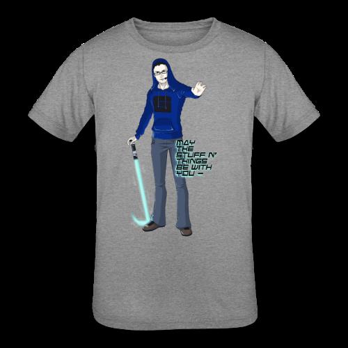 Kid's Sl1pg8r #MTSATBWY Contest Winner! - Kids' Tri-Blend T-Shirt