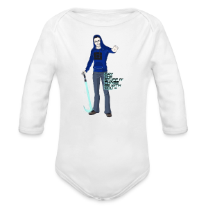 Kid's Sl1pg8r #MTSATBWY Contest Winner! - Long Sleeve Baby Bodysuit