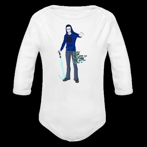 Kid's Sl1pg8r #MTSATBWY Contest Winner! - Organic Long Sleeve Baby Bodysuit
