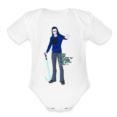 Kid's Sl1pg8r #MTSATBWY Contest Winner! - Organic Short Sleeve Baby Bodysuit