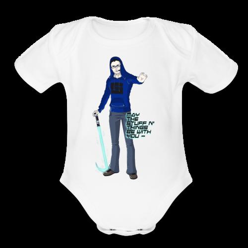 Kid's Sl1pg8r #MTSATBWY Contest Winner! - Organic Short Sleeve Baby Bodysuit