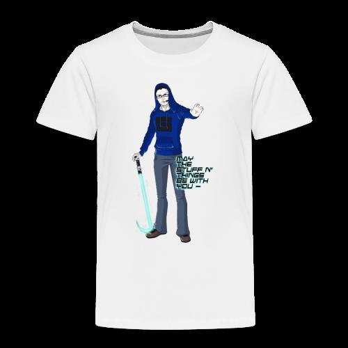 Kid's Sl1pg8r #MTSATBWY Contest Winner! - Toddler Premium T-Shirt
