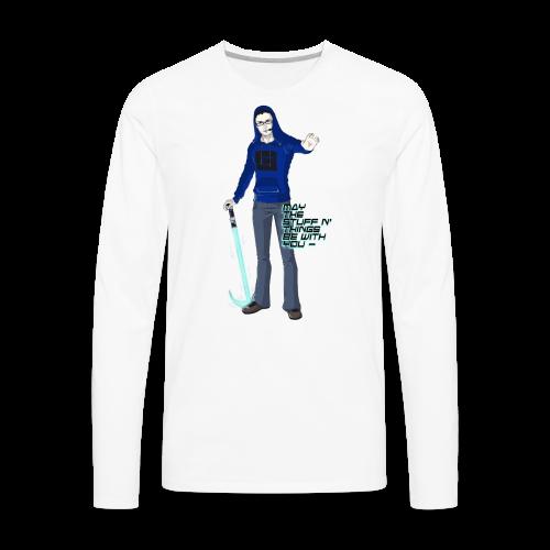 Kid's Sl1pg8r #MTSATBWY Contest Winner! - Men's Premium Long Sleeve T-Shirt